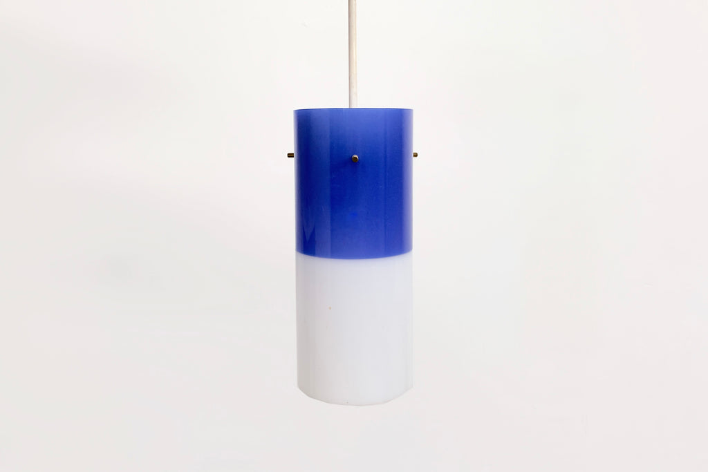 Plastic Color-Blocked Pendant Light
