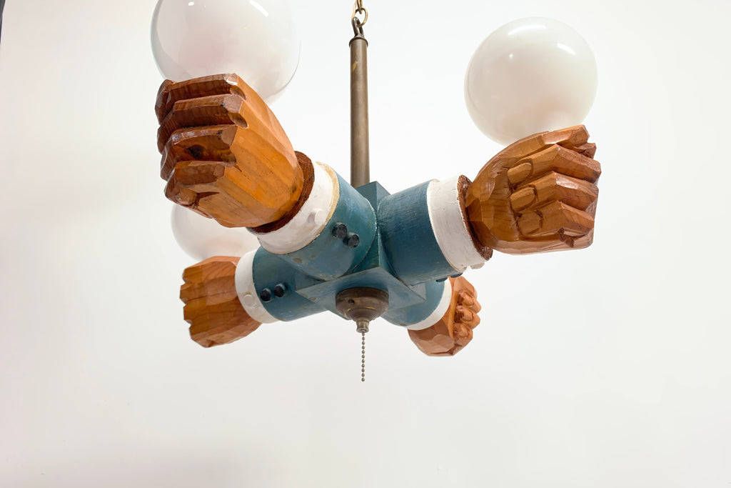 Four Hands Lamp