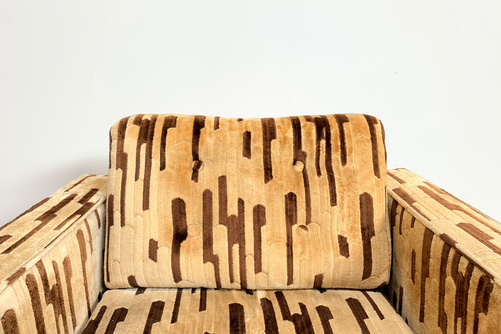 70's Patterned Armchair