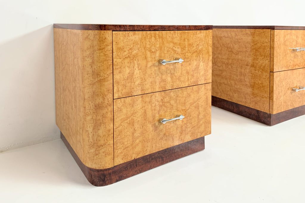 Burl Night Stands