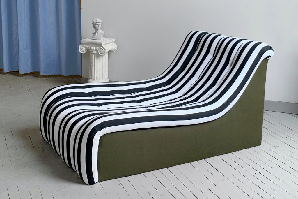 Stripe Chaise