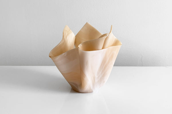 Glass Napkin Vase