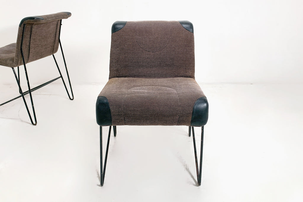 Hairpin Leg Upholstered Chair