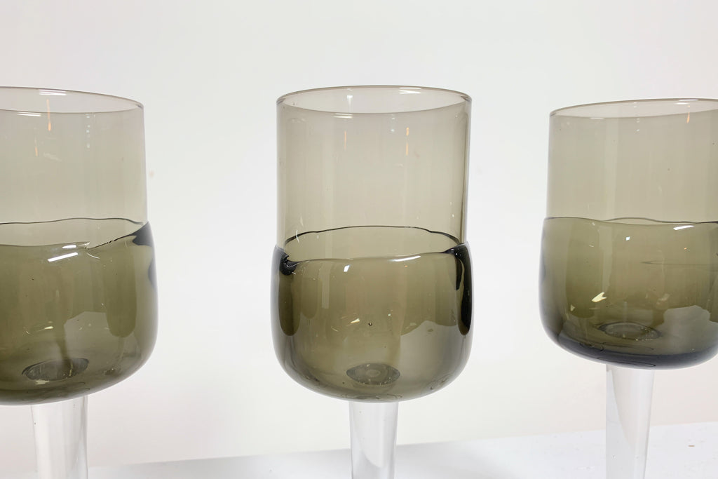 Smoked Wine Glasses