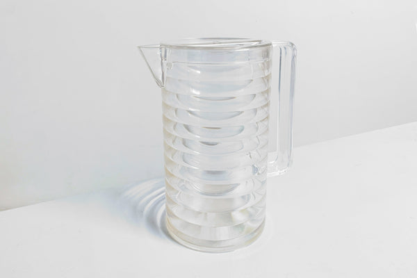 Ribbed Pitcher