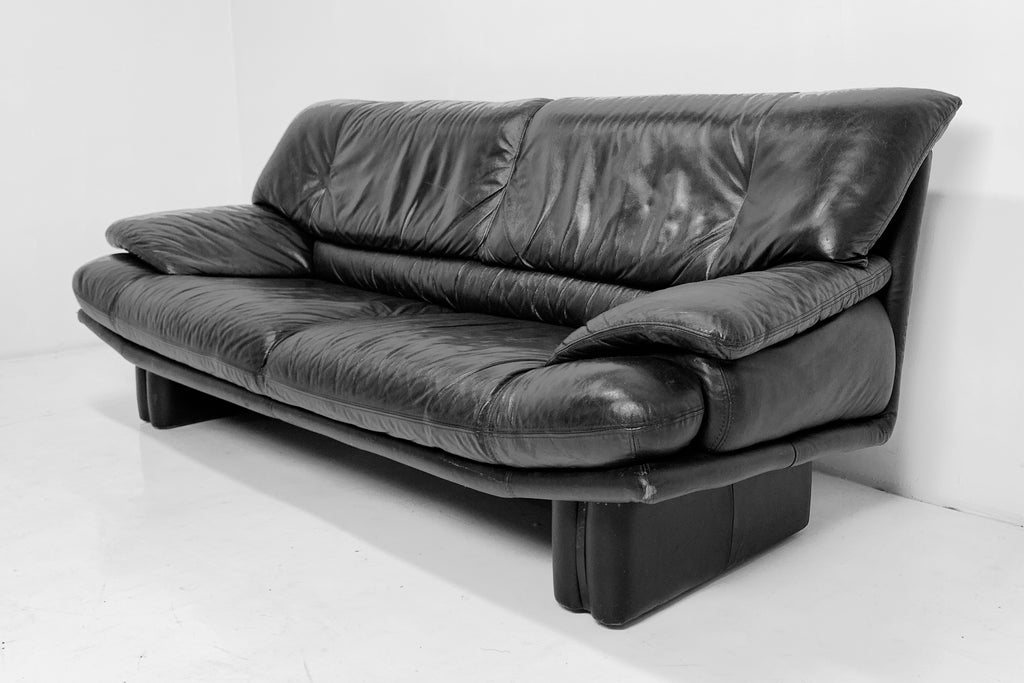 Post Modern Leather Sofa