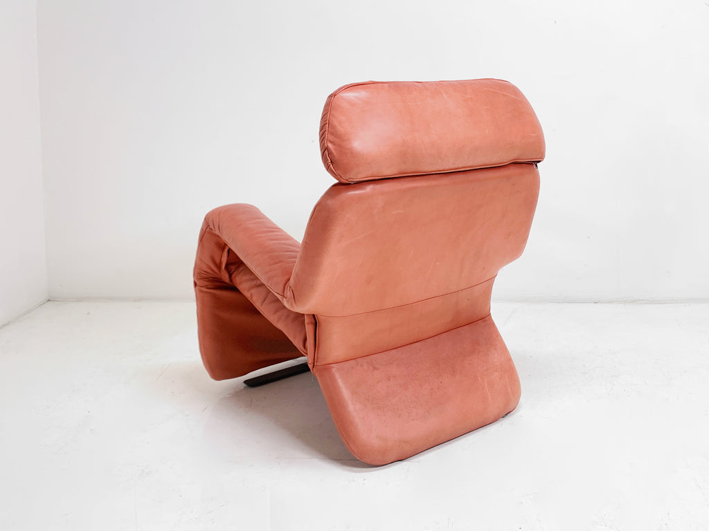80s Leather Recliner