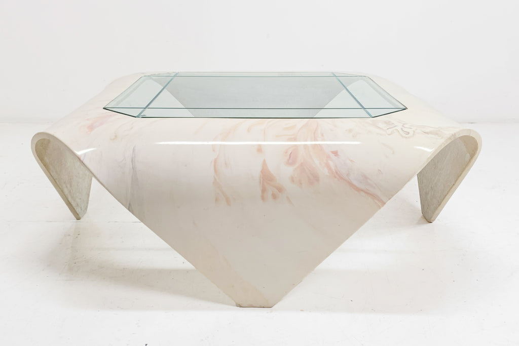 Folded Stone Table