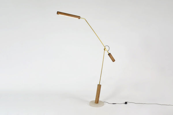 OVUUD Dowel Floor Lamp