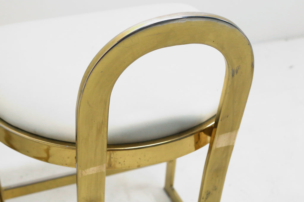 Brass Counter Stool