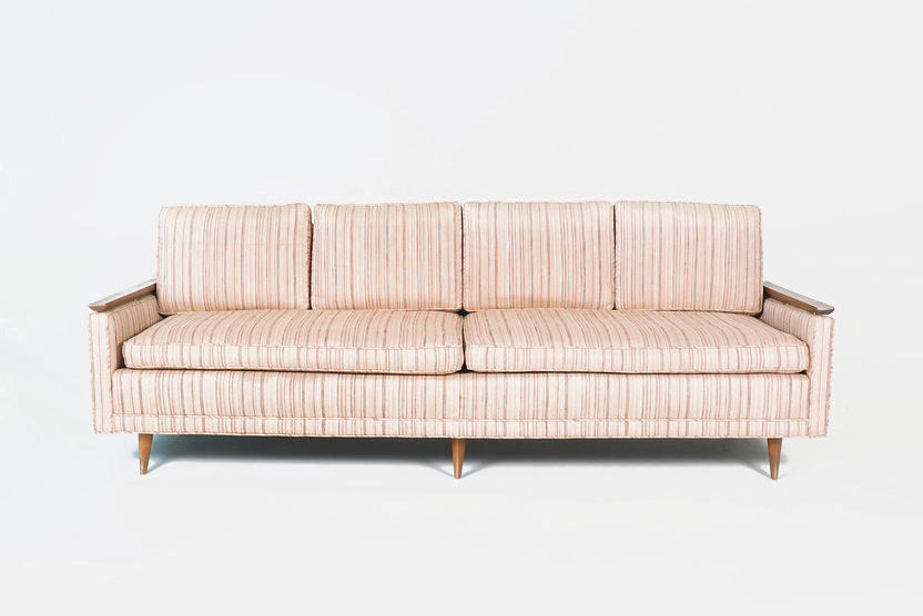 Blush Mid-Century Sofa