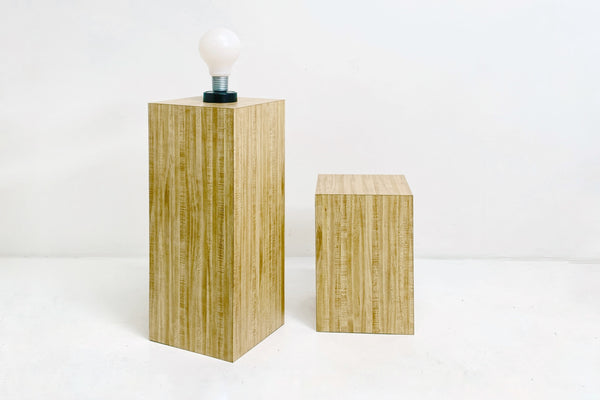 Laminate Wood Pedestal
