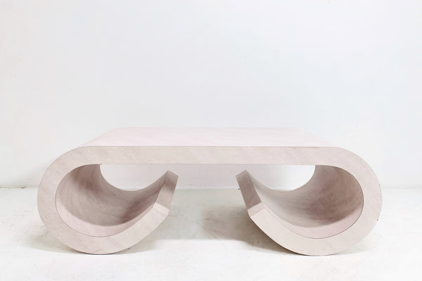 Scroll Coffee Table