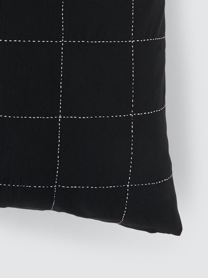 Grid Stitch Pillow
