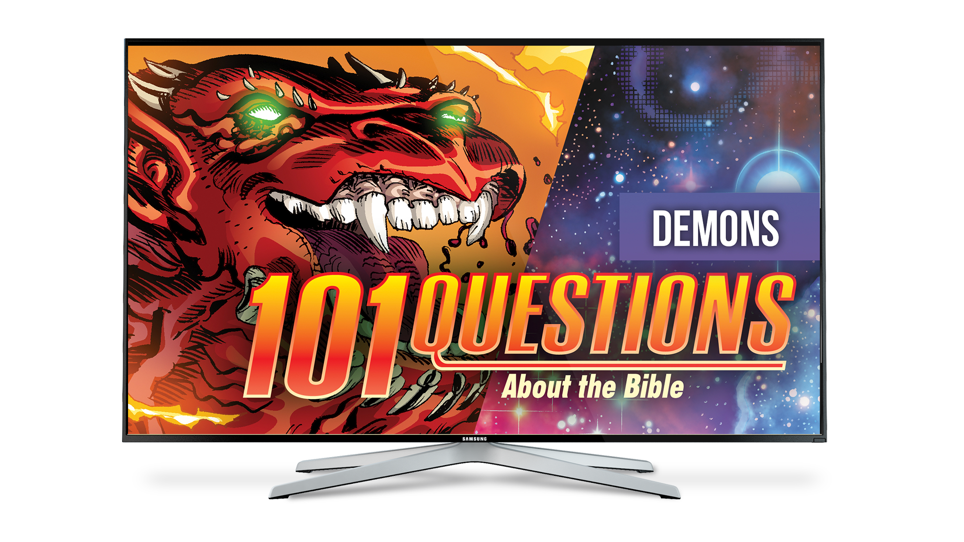 101 Questions: #17 What does the Bible say about demons?