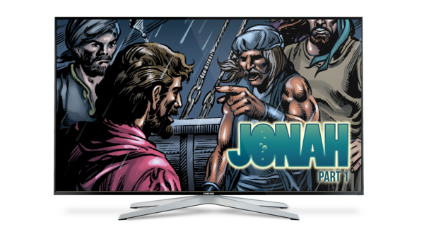 Jonah Part 1 - Animated Comic