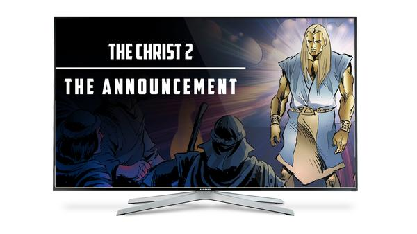 The Christ 2 - The Announcement - Animated Comic