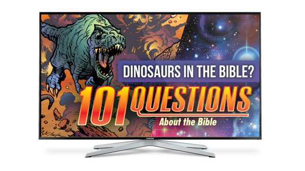 101 Questions: #13 What Does the Bible Say About Dinosaurs?