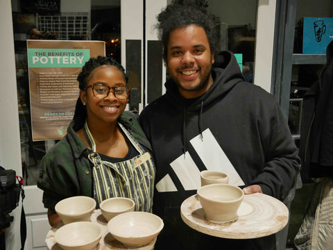 Atlanta datenight ideas. Try Pottery. Alpharetta datenight ideas