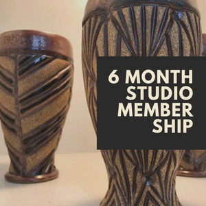 6 MONTH STUDIO MEMBERSHIP