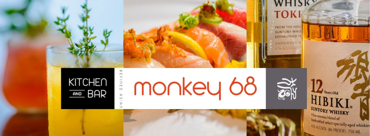 Monkey 68 Alpharetta Sushi refine asian restaurant