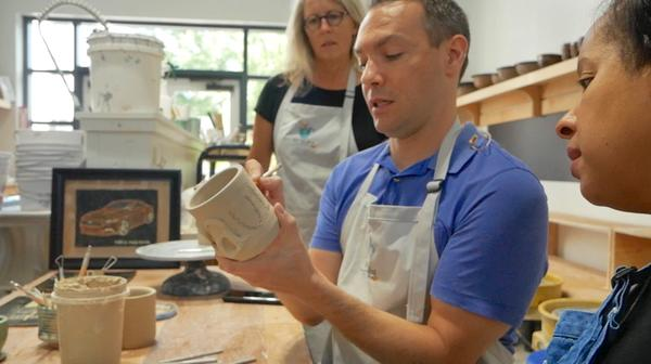Atlanta pottery studio featured on Fox 5 Good day Atlanta