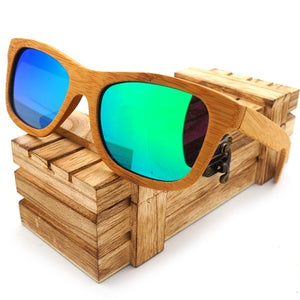 Wood Frame Sun Glasses - It's Bro Products