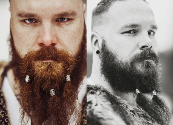 Viking Rune Beard Beads - It's Bro Hemp