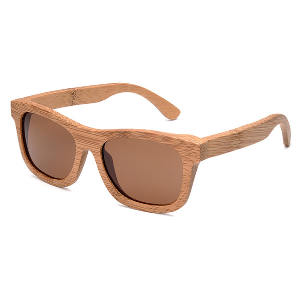 Men's Wooden Sunglasses Vintage Bamboo  Handmade - It's Bro Products