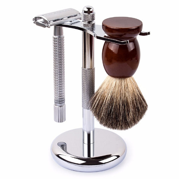 Shaving Brush and Razor Holder