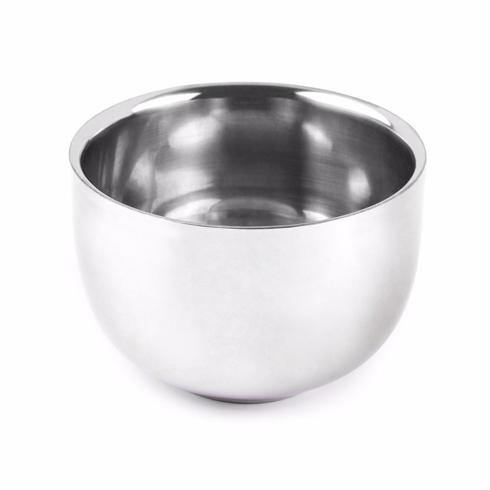 Shaving Bowl - Stainless Steel