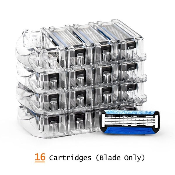 Replacement Razor Cartridges - 5 Blade System