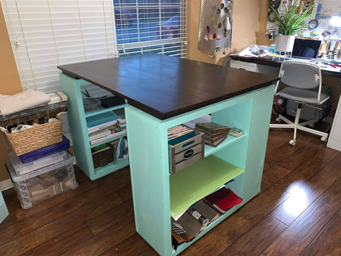 Craft Table for a Jewelry Maker