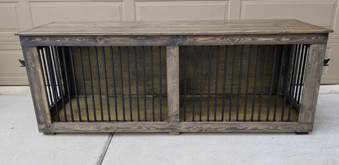 Dog Kennel Cage Front View