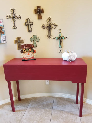 Painted Decorative Entryway Table
