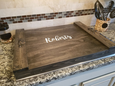 Personalized Stovetop cover