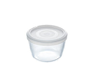 Cook & Freeze Glass Round dish with plastic lid