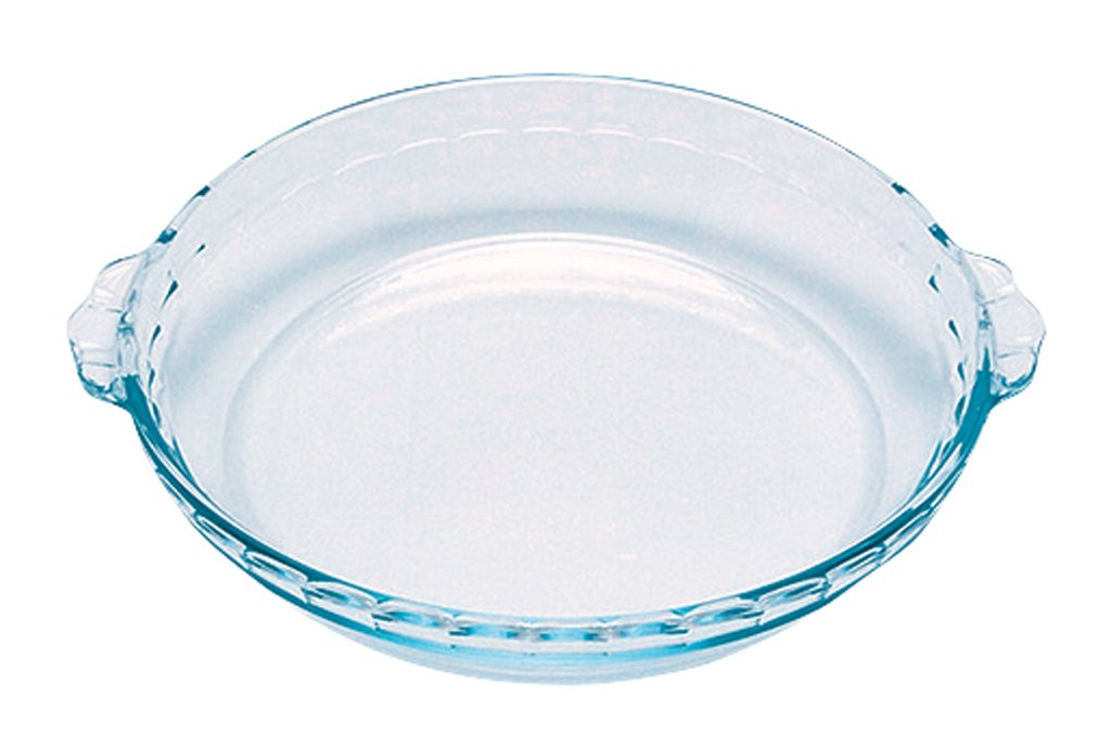Bake Amp Enjoy Glass Fluted Flan Dish High Resistance 26 Cm