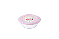 My First Pyrex  - Round Baby Food Storage Pink