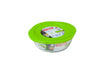 Cook & Store Glass Round Dish High resistance with lid