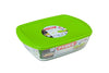Cook & Store Glass Rectangular Dish High resistance with lid