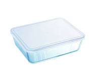 Cook & Freeze Glass Rectangular Dish with plastic lid