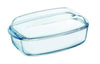 Essentials glass Rectangular casserole