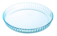 Bake & Enjoy Glass Quiche Flan dish High resistance