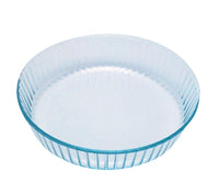 Bake & Enjoy Glass Fluted flan dish High resistance 26 cm