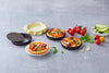 asimetriA Metal Set of 4 tartlets with loose bottom - 10 cm
