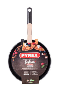 Festive Pancake Pan Black Induction 25cm
