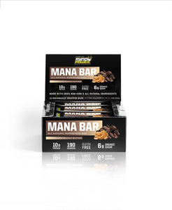 Mana Superfood Bar, (Chocolate, peanut butter) 50 gr. kassi með 12 stk.