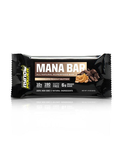 Mana Superfood Bar, (Chocolate, peanut butter) 50 gr.