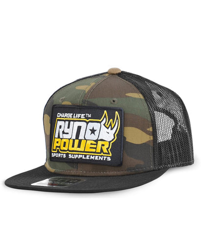 Ryno Power Mesh Hat Camo